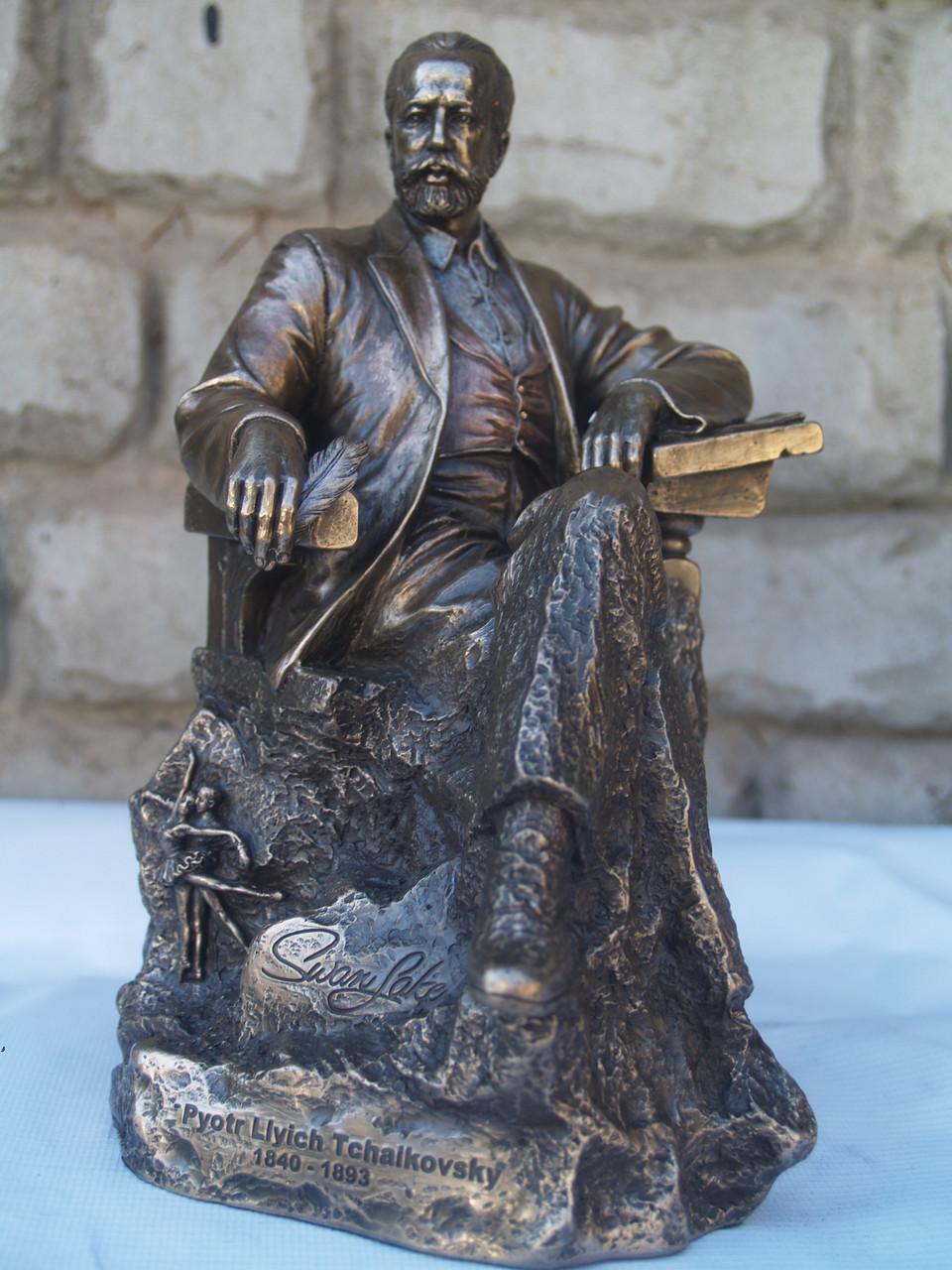 Статуетка Veronese Петро Ілліч Чайковський 22 см 75643 фігурка веронезе музикант композитор