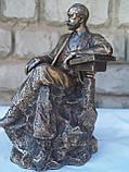 Статуетка Veronese Петро Ілліч Чайковський 22 см 75643 фігурка веронезе музикант композитор, фото 4