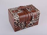 Шкатулка трансформер раскладная для украшений комодик для прикрас Lefard 362-057-1 органайзер кейс, фото 2