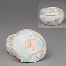 Шкатулка Unicorn Studio Бабочка 20023 фарфор фарфоровая шкатулка диаметр 5 см