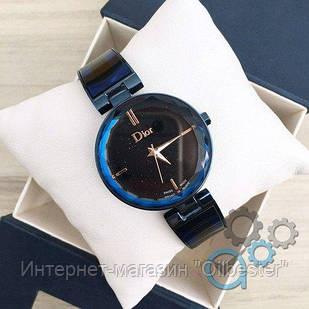 Часы женские Dior синие