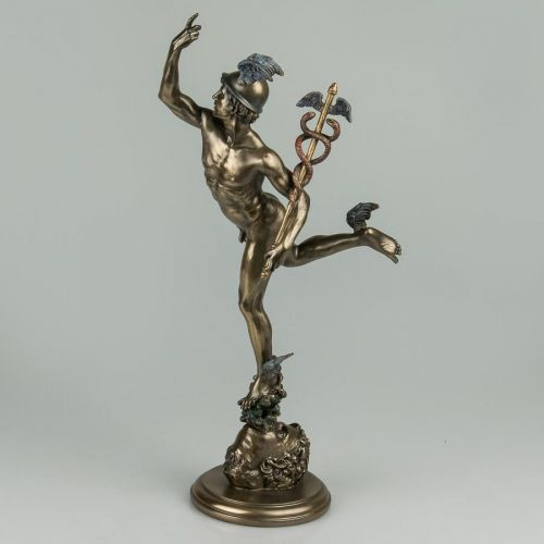 Статуэтка Veronese Гермес 36 см 75516 фигурка статуетка веронезе Меркурий верона