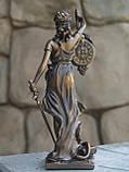 Часы настольные Veronese Фемида 19 см 76754 фигурка статуетка веронезе часы на стол верона, фото 2