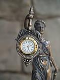 Часы настольные Veronese Фемида 19 см 76754 фигурка статуетка веронезе часы на стол верона, фото 3