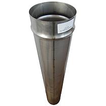 Труба дымоходная D-350 мм S-0,8 мм L-1 метр AISI 321 из нержавеющей стали - «Stalar», фото 2