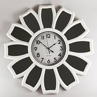 Часы настенные 66 см 073А white часы на стену цветок