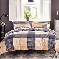Современное евро постельное белье для дома Viluta с ранфорса