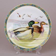 Декоративная тарелка Lefard Утки 20 см 921-0023 настенная керамическая декор на стену утка птица