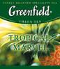 Пакетированный чай Greenfield Tropical Marvel 1,5 грамм 25 пакетов (зеленый с имбирем и ананасом), фото 2
