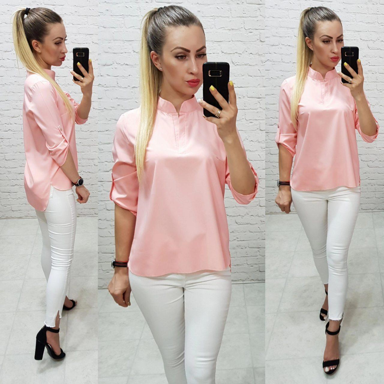 Блузка женская, модель 749, розовый