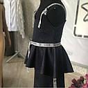 Модный стильный школьный костюм тройка для девочки Размеры 122- 146, фото 4