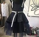 Модный стильный школьный костюм тройка для девочки Размеры 122- 146, фото 7
