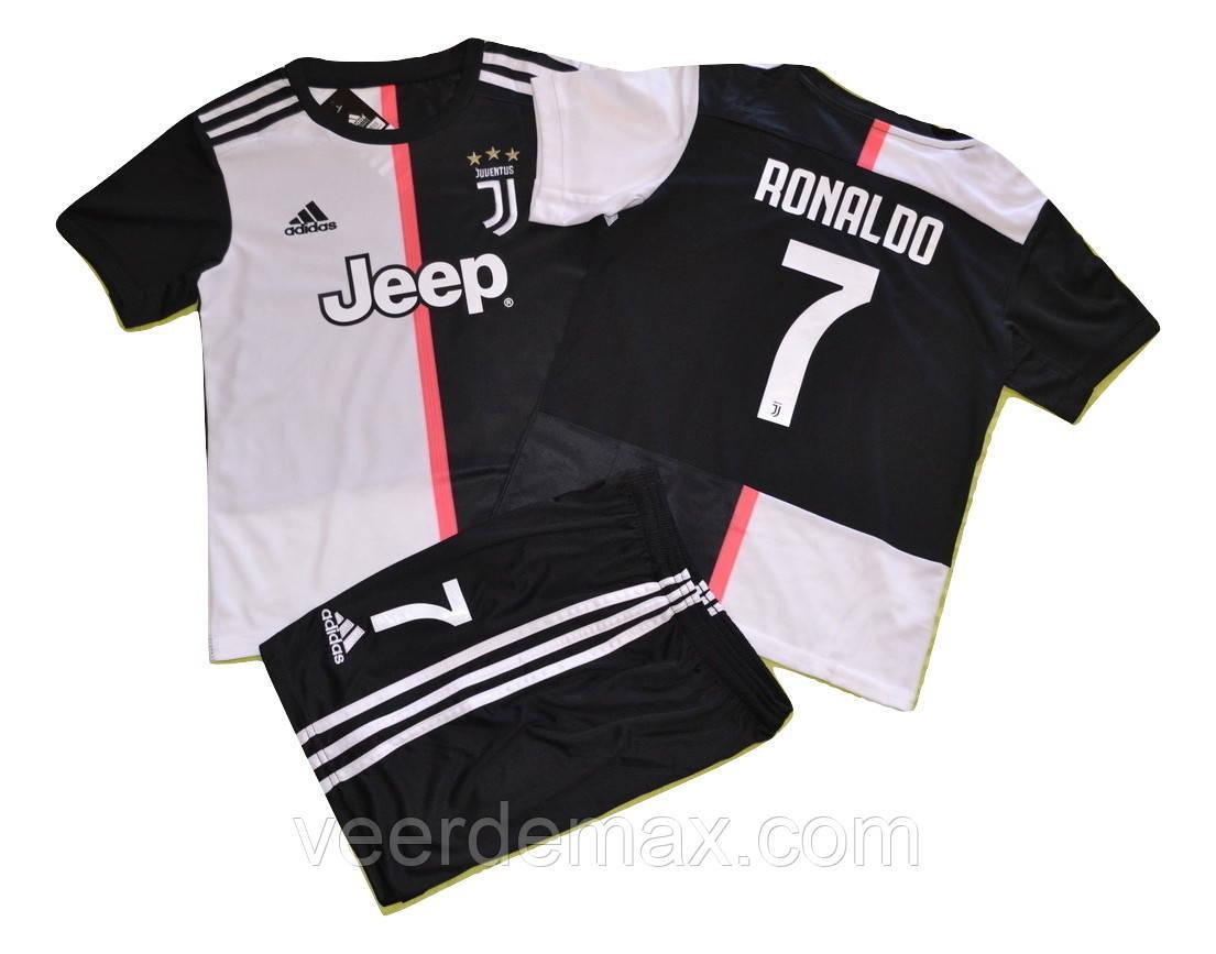 Футбольная форма Ювентус (FC Juventus) Роналдо  19/20 детская