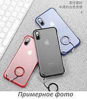 "TPU+PC чехол LikGus Edge (+ кольцо) для Apple iPhone X / XS (5.8"")"