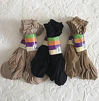 Женские капроновые носки ЧЕРНЫЕ
