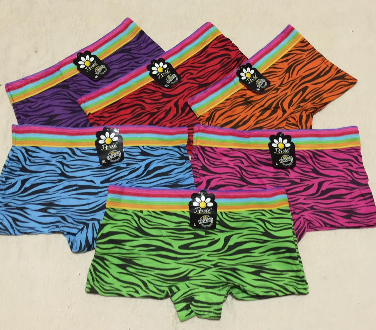 Женские трусы-шорты, трусики с рисунком Зео