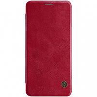 Кожаный чехол (книжка) Nillkin Qin Series для Samsung Galaxy A8 Star (A9 Star)