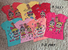 Футболка LOL на девочку, детские футболки