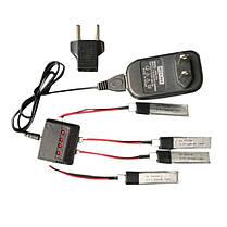4 в 1 зарядное устройство 3.7V 200mah 20 c литий-полимерный аккумулятор для wltoys v911 v911-1 v911-2 - 1TopShop, фото 2