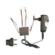 4 в 1 зарядное устройство 3.7V 200mah 20 c литий-полимерный аккумулятор для wltoys v911 v911-1 v911-2 - 1TopShop, фото 3