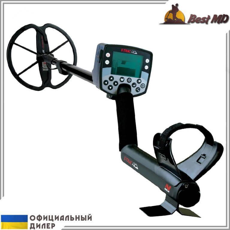 Металлоискатель Minelab E-Trac Pro