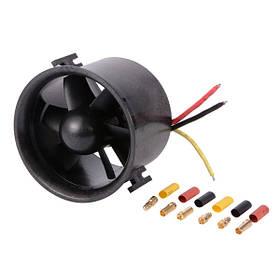 90-мм вентиляторный блок EDF с 1750KV Бесколлекторный Outrunner Мотор для модели RC-1TopShop
