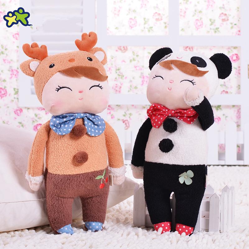 Metoo Baby Soft Плюшевые игрушки Кролик Животные Анжела Пакет Dreaming Girl Розовый Фаршированные игрушки - 1TopShop