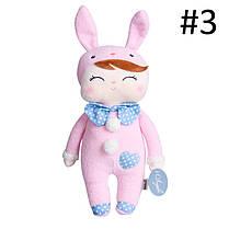 Metoo Baby Soft Плюшевые игрушки Кролик Животные Анжела Пакет Dreaming Girl Розовый Фаршированные игрушки - 1TopShop, фото 3