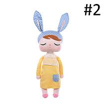 Metoo Baby Soft Плюшевые игрушки Кролик Животные Анжела Пакет Dreaming Girl Розовый Фаршированные игрушки - 1TopShop, фото 2