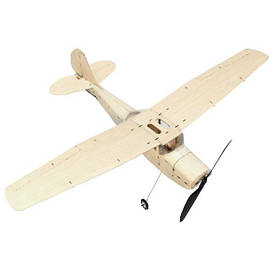 MinimumRC Cessna L-19 460 мм Wingspan Balsa Wood Лазер Cut RC Airplane KIT-1TopShop