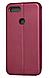 Чехол (книжка) премиум для Xiaomi  Mi 8 Lite бордо (марсала), фото 3