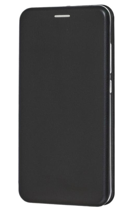 Чехол (книжка) премиум для Xiaomi  Mi 8 Lite чёрная