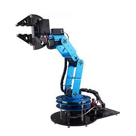 DIY 6DOF Робот-манипулятор 51 Микроконтроллер Механический Рука с держателем когтя Цифровой Сервопривод-1TopShop