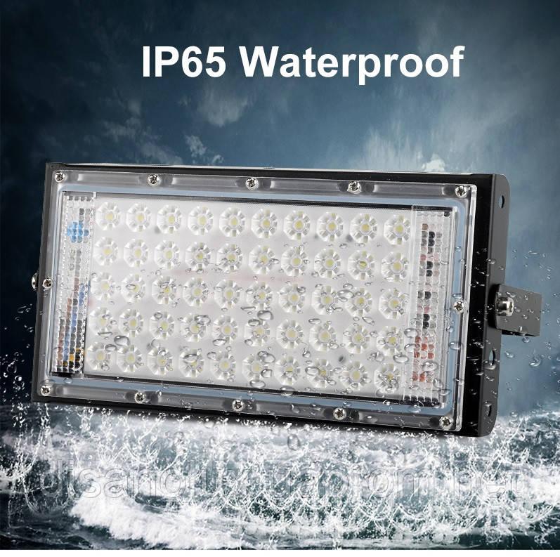 LED  Прожектор MRY-TGD-50W 6100K IP65