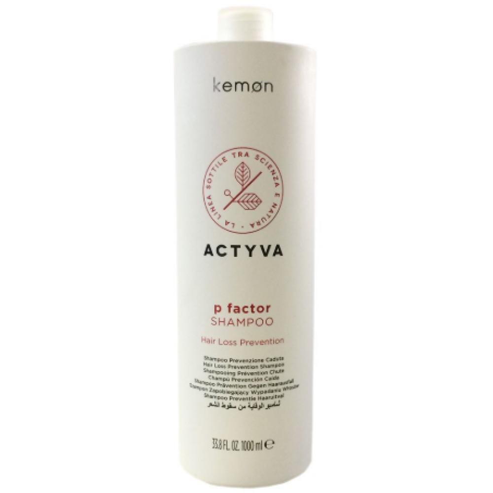 KEMON  P FACTOR Шампунь от выпадения волос и д/стимуляции роста 1000 ml