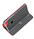 Чехол (книжка) премиум для Xiaomi Mi 8 Lite красная, фото 3