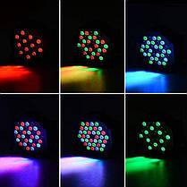 RGB Дистанционное Управление с голосовой активацией 36 LED Stage Light Party Дискотека KTV Пар Лампа AC90V-240V - 1TopShop, фото 3