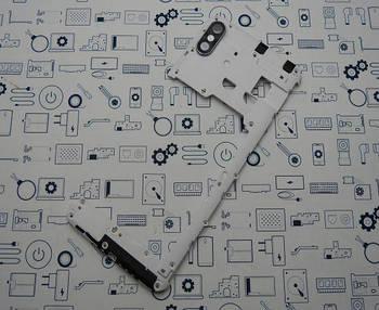 Средний корпус Doogee x53 Сервисный оригинал с разборки