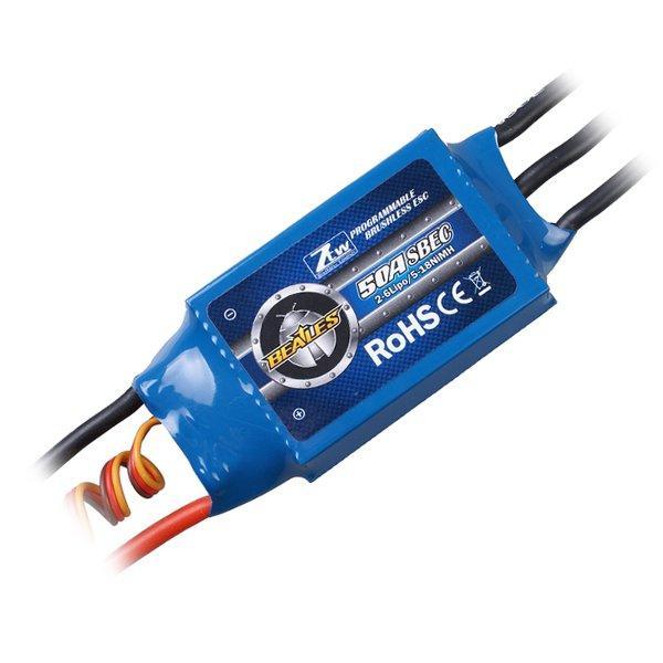 ZTW Beatles 50A 60A 80A ESC бесщеточный контроллер скорости для РУ самолета-1TopShop