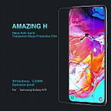 Nillkin Samsung A7050 Galaxy A70 Amazing  H Nanometer Anti-Explosion Tempered Glass Screen Protector, фото 6