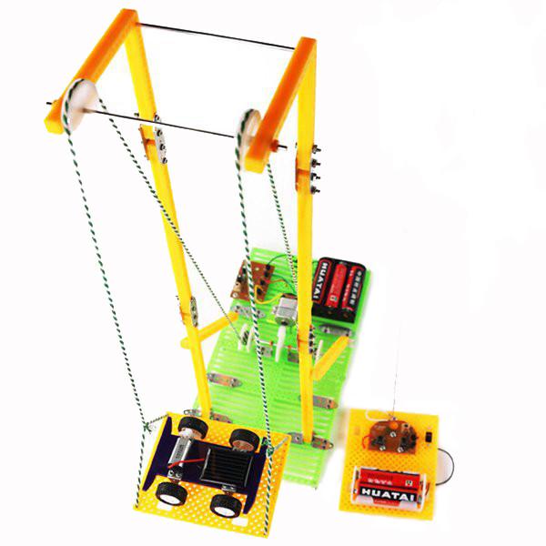 DIY Ассамблеи развивающие игрушки модель RC электрический лифт - 1TopShop