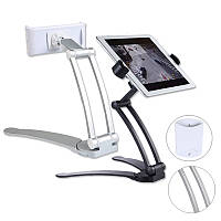 BakeeyУниверсальныйалюминиевыйсплавРегулируемыйнастенный ленивый настольный держатель для Ipad Phone Tablet - 1TopShop