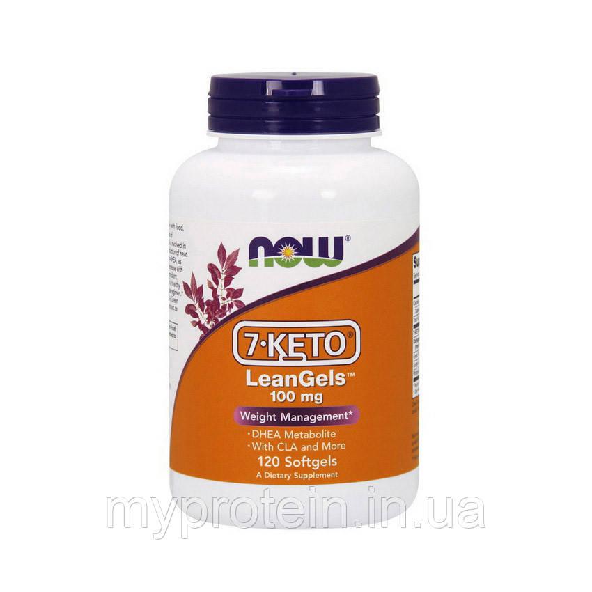 NOWДегидроэпиандростерон 7-KETO LeanGels 100 mg 60 softgels