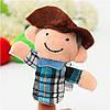 10 ПК Family Finger Puppets Ткань Кукла Детская обучающая игрушка для рук - 1TopShop, фото 5