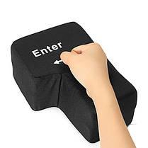 Новый большой USB Enter Key Button Домашний офис Desktop Nap Подушка Подушка Подушка Уменьшить стресс игрушки - 1TopShop, фото 3