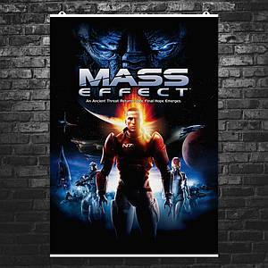 Постер Mass Effect, Масс Эффект, Эффект массы. Размер 60x43см (A2). Глянцевая бумага