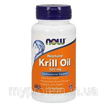 NOWАктивное долголетиеKrill Oil 500 mg60 softgels
