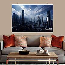 """Постер """"Цитадель"""", Mass Effect, Масс Эффект, Эффект массы. Размер 60x40см (A2). Глянцевая бумага, фото 2"""