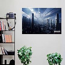 """Постер """"Цитадель"""", Mass Effect, Масс Эффект, Эффект массы. Размер 60x40см (A2). Глянцевая бумага, фото 3"""