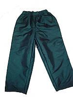 Штаны из плащевки для мальчика Буквы (4-5 лет)